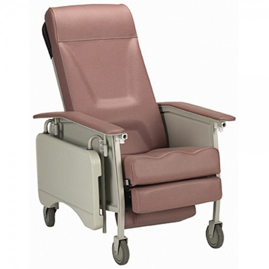 Invacare 3-Position Geriatric Recliner Chair