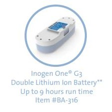 Inogen One G3 Portable Oxygen Concentrator Double Lithium Ion Battery