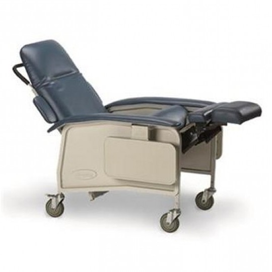 Blue Invacare with Foot Extension