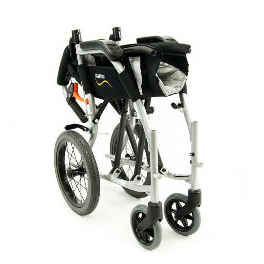 Karman Ergo Flight-TP Transport Wheelchair