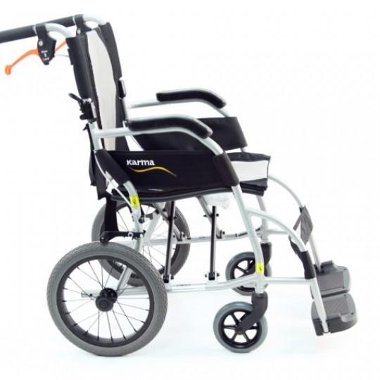 Karman Ergo Lite Ultra Lightweight Transport Wheelchair