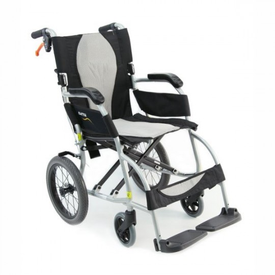 Karman Ergo Lite Ultra Lightweight Transport Wheelchair