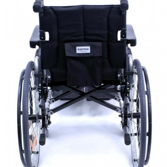 Back view of Karman Flexx Ultra Lightweight Wheelchair