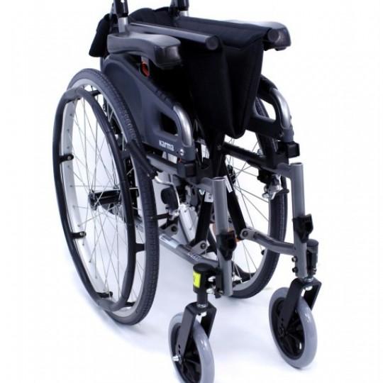 Folded Karman Flexx Ultra Lightweight Wheelchair
