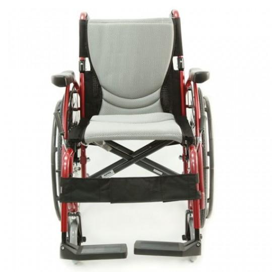 Front view of Karman S-Ergo 125 Ultra Lightweight Wheelchair