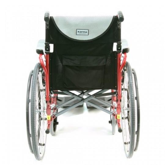 Back side of Karman S-Ergo 125 Ultra Lightweight Wheelchair