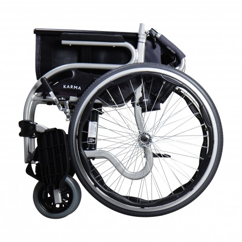 Folded Karman Star 2 Ultra Lightweight Wheelchair