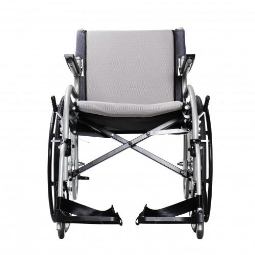 Front view of Karman Star 2 Ultra Lightweight Wheelchair
