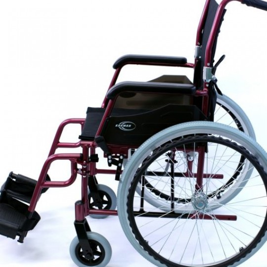 Side view of Karman Ultra Lightweight Wheelchair