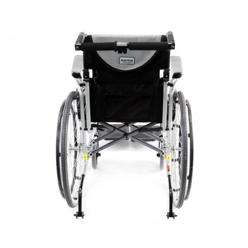 Back view of Karman S-Ergo 106 Ultra Lightweight Wheelchair