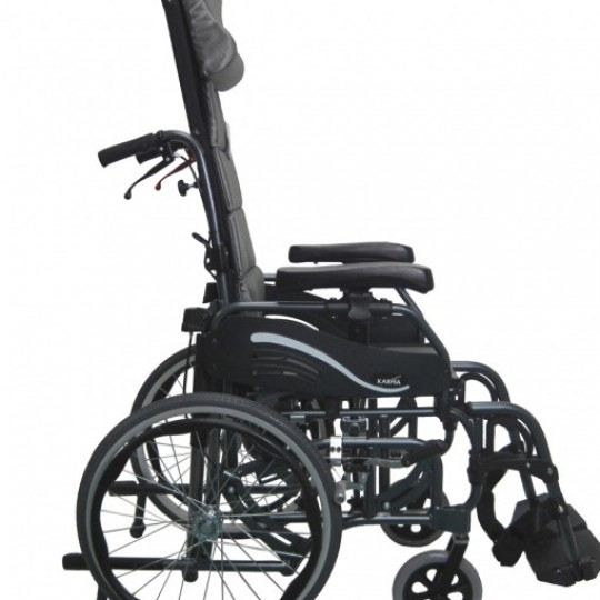 Side view of Karman VIP-515 Tilt In Space Wheelchair