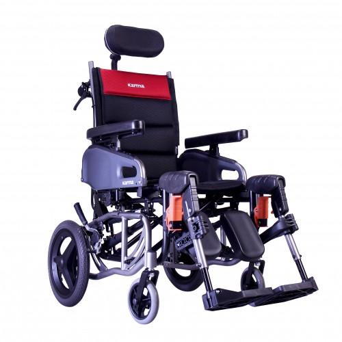 Karman VIP2 Tilt in Space Reclining Transport Wheelchair