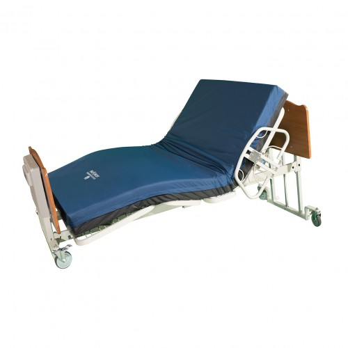 Side view of Med Mizer Comfort Wide EX8000 Bariatric Low Bed