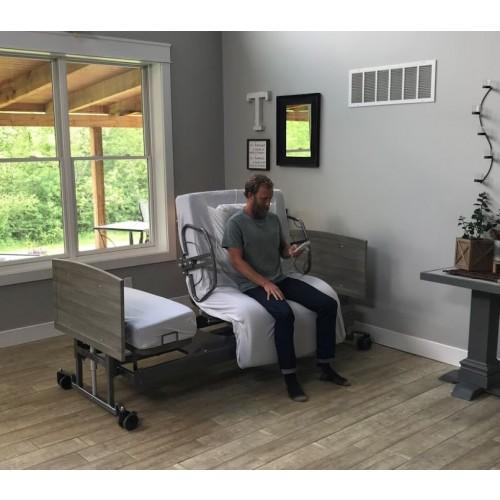 med mizer standard active care bed sitting