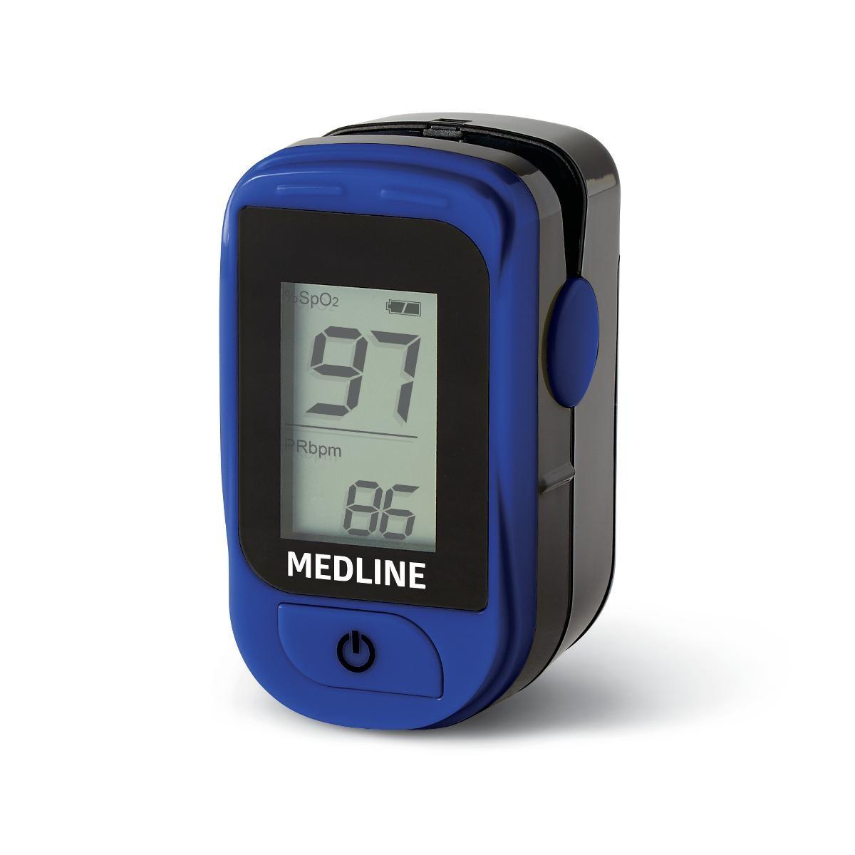 Medline Basic Finger Pulse Oximeter