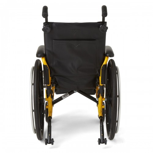 Back view of Medline Kidz Pediatric Wheelchair
