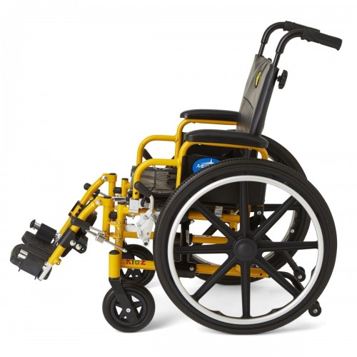 Side view of Medline Kidz Pediatric Wheelchair