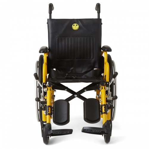 Front view of Medline Kidz Pediatric Wheelchair