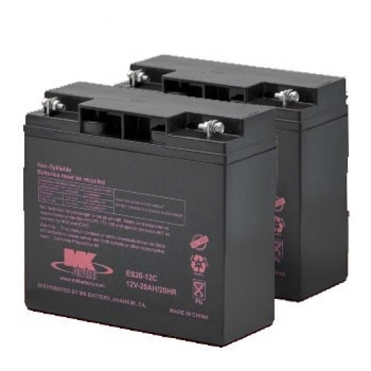 MK Battery 12V 20AH Sealed Lead Acid (Pair)
