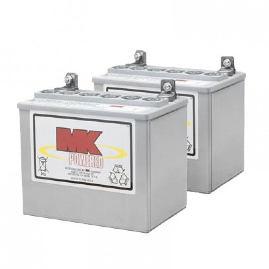 MK Battery 12V 32AH Sealed Gel (Pair)