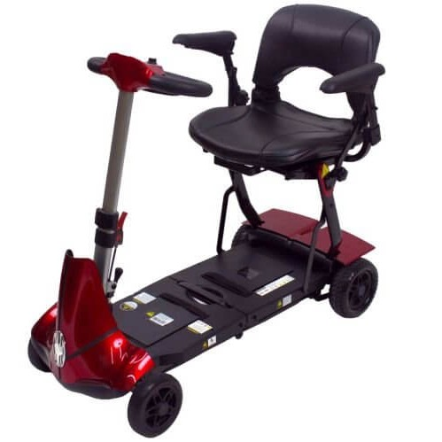 Red Mobie Plus Folding Scooter