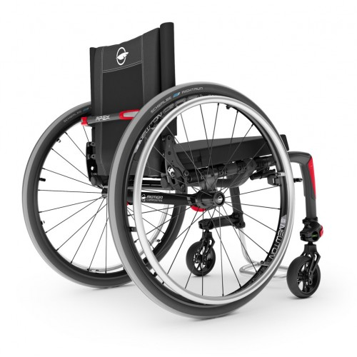 Back view of Motion Composites Apex Wheelchair