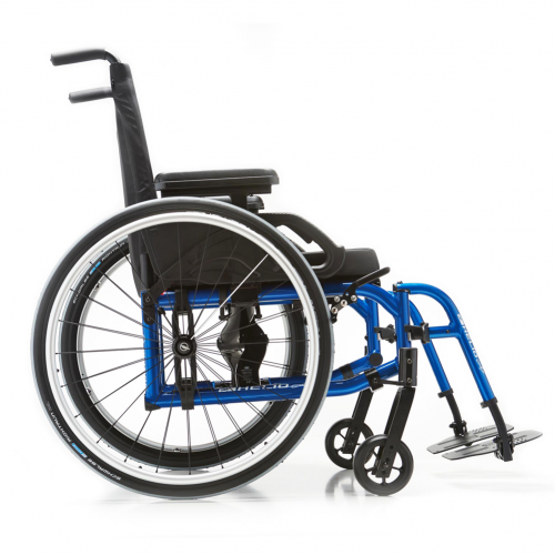 Side view of Motion Composites Helio A7 Wheelchair
