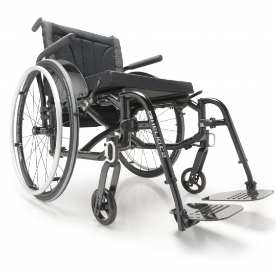Motion Composites Helio C2 Ultralight Folding Carbon Fiber Wheelchair
