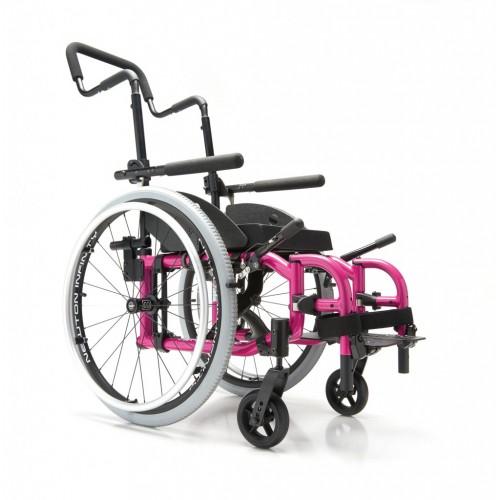 Pink Helio Kids Wheelchair