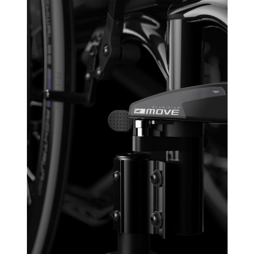 Black Motion Composites Move Wheelchair