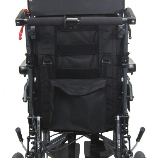 Back view of Karman MVP-502TP Premium Ergonomic Recliner Wheelchair