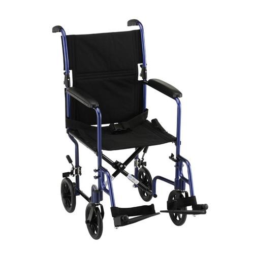 """Nova 17"""" Lightweight Transport Chair"""