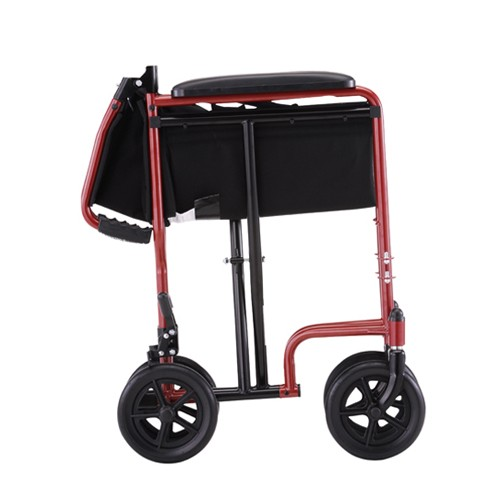 Red Nova 19 inch Lightweight Transport Chair