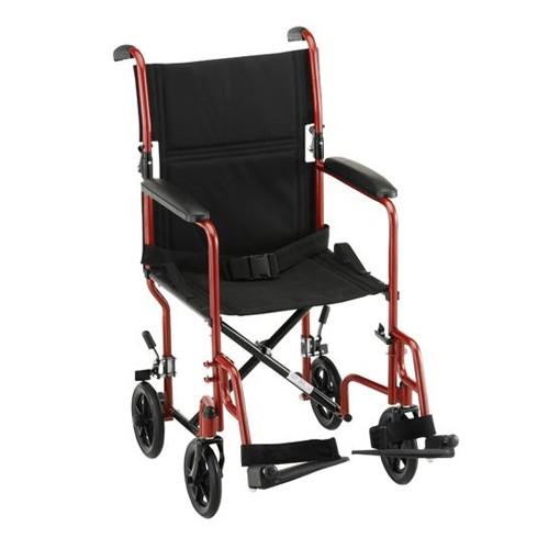 """Nova 19"""" Lightweight Transport Chair"""