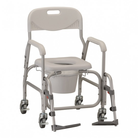 Nova Deluxe Shower Chair and Commode