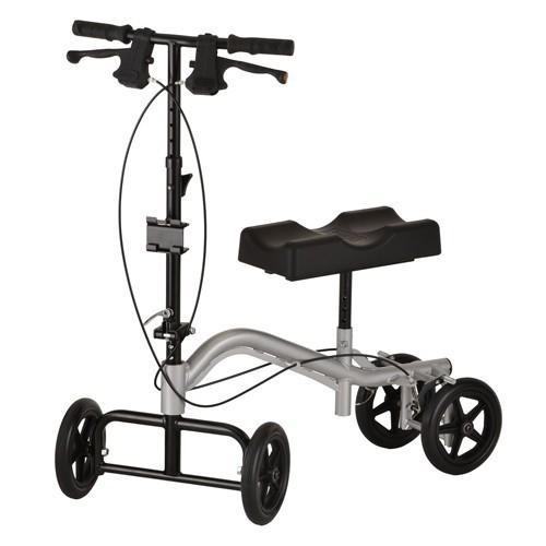 Grey Nova Knee Walker with 4 wheels