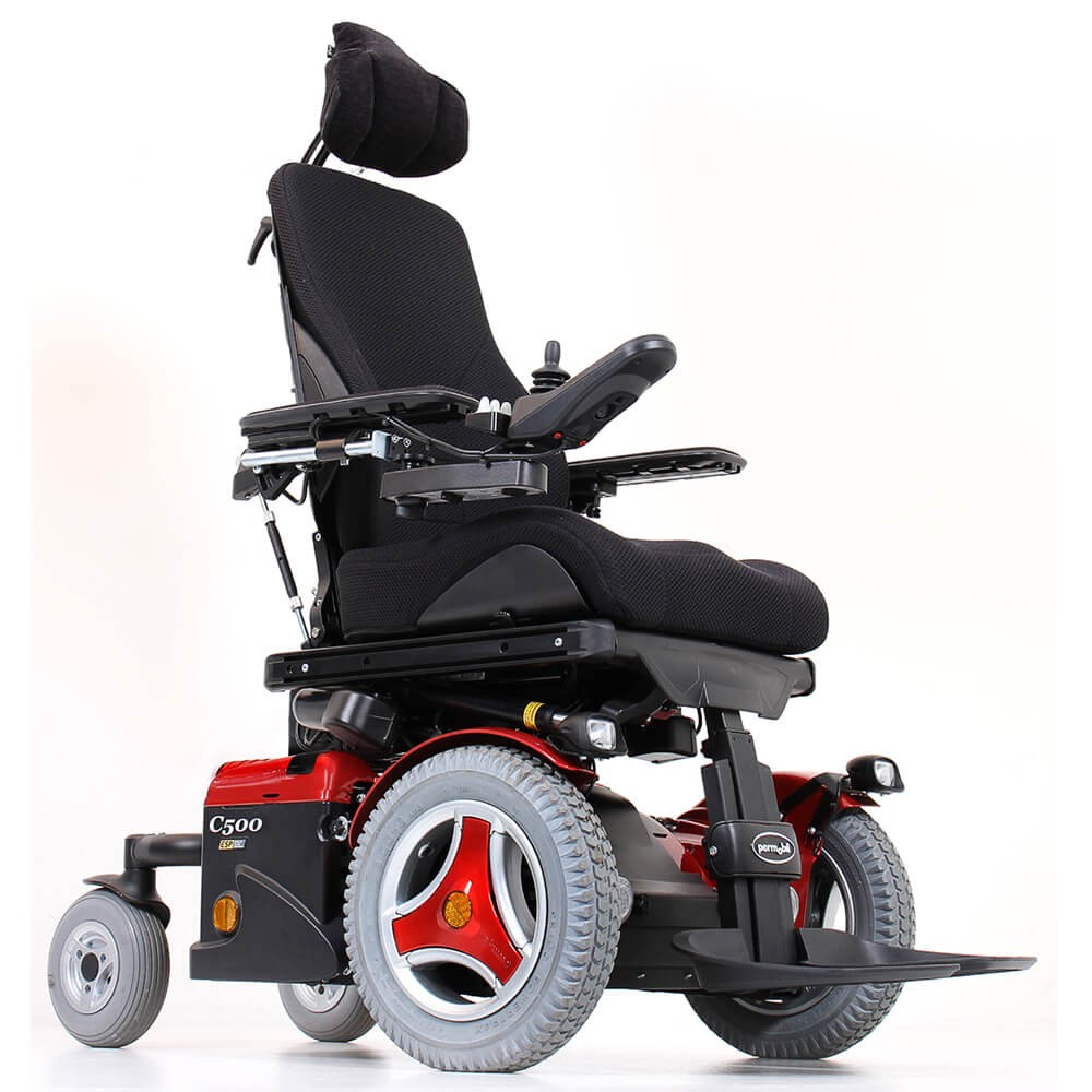Permobil C500 Corpus 3G Mid Wheel Power Wheelchair
