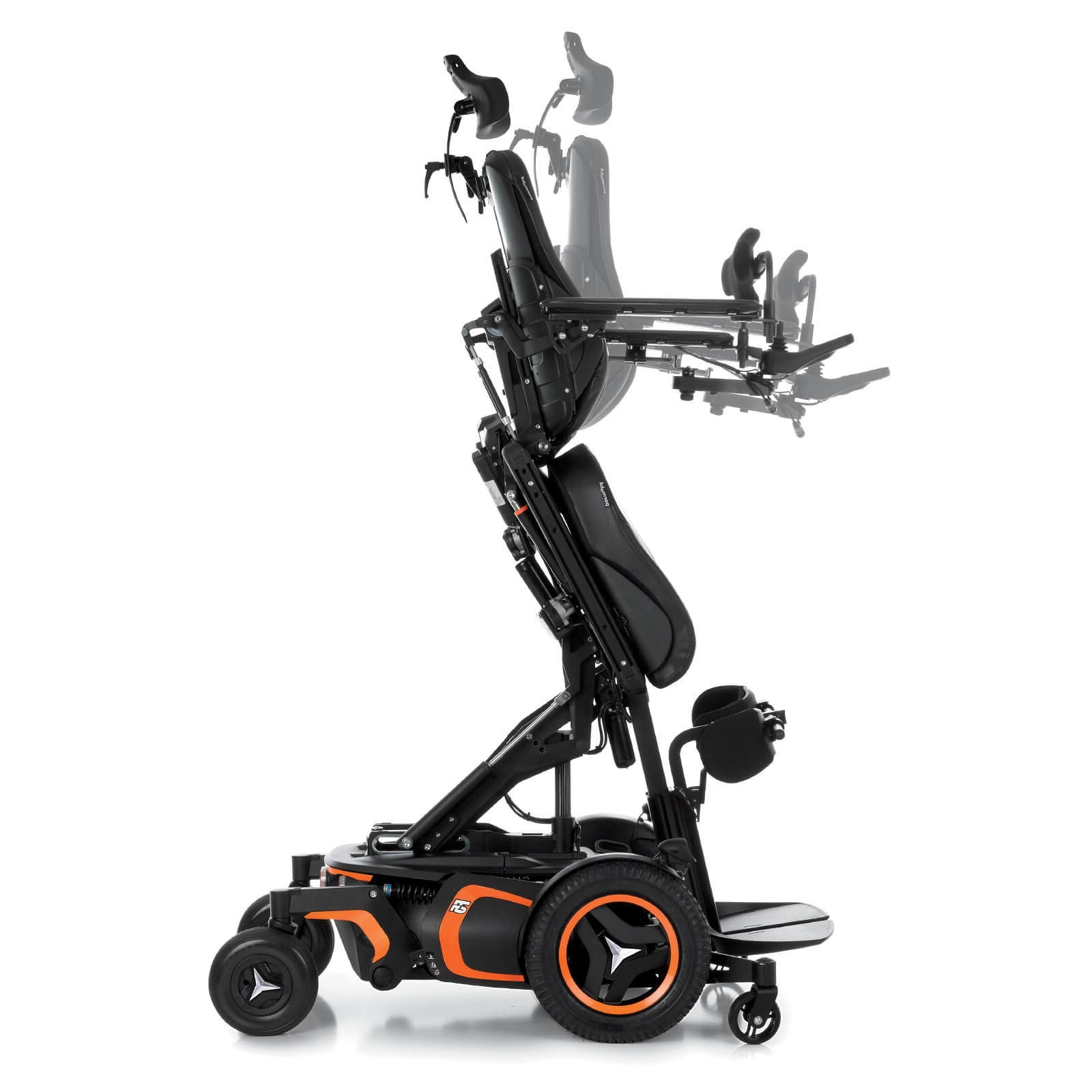 Side view of Permobil F5 Corpus VS Standing Power Wheelchair