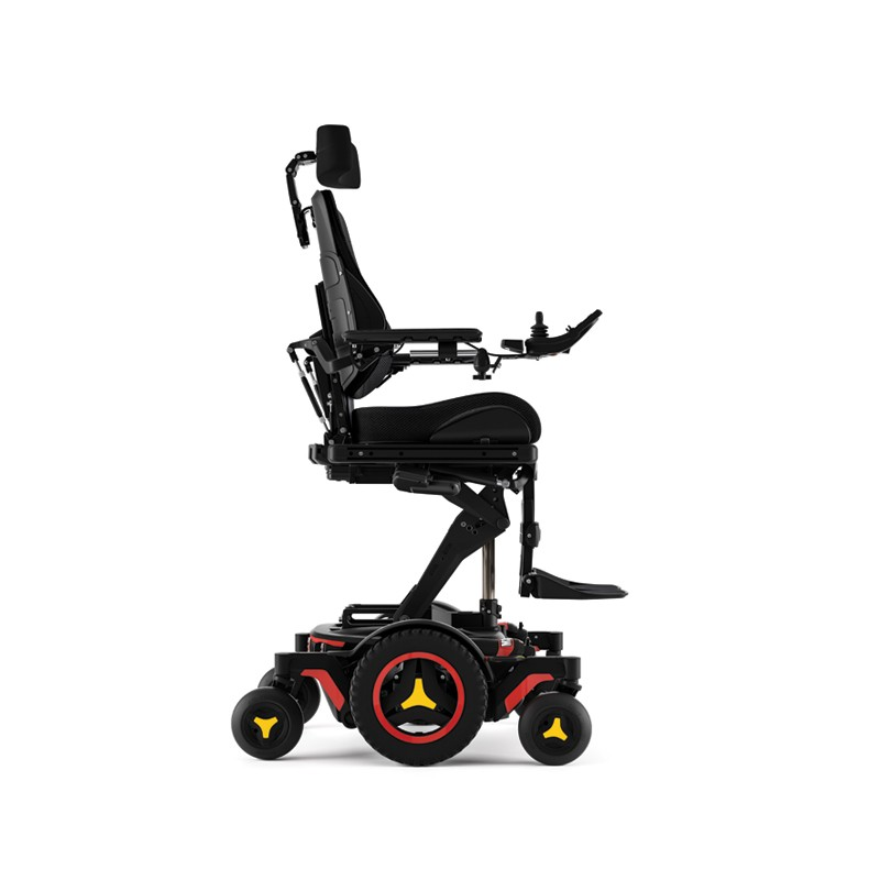 Side view of Permobil M3 Corpus Mid Wheel Power Wheelchair