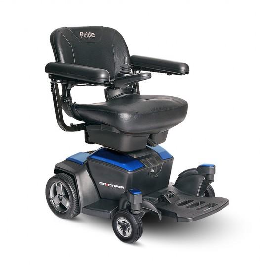 Blue Pride Go Chair Travel Power Wheelchair