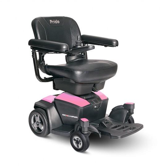 Pink Pride Go Chair Travel Power Wheelchair