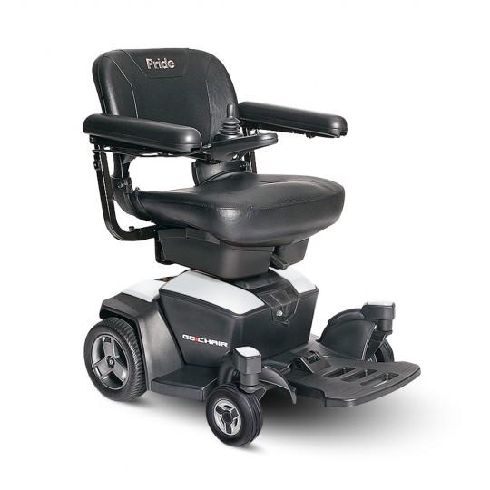 White Pride Go Chair Travel Power Wheelchair