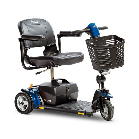 Blue Pride Go-Go Elite Traveller Plus 3-Wheel Mobility Scooter