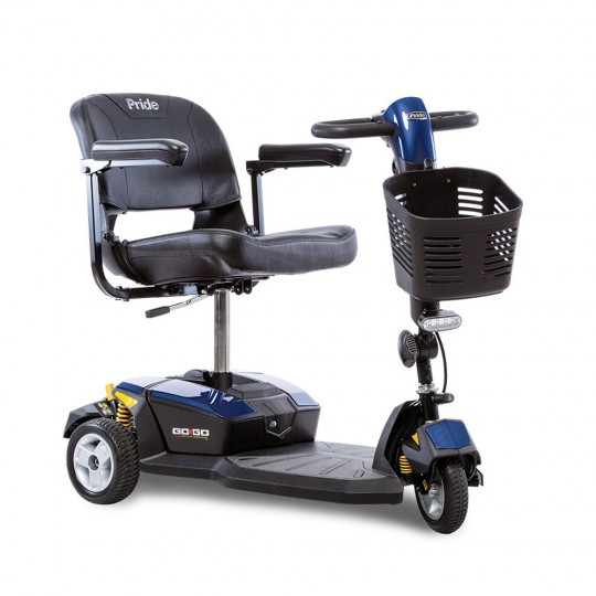 Blue Pride Go-Go LX 3-Wheel Mobility Scooter