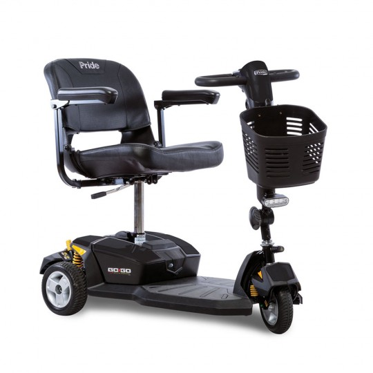 Pride Go-Go LX 3-Wheel Mobility Scooter with CTS Suspension