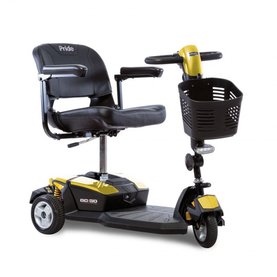 Yellow Pride Go-Go LX 3-Wheel Mobility Scooter