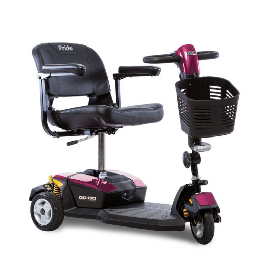 Pink Pride Go-Go LX 3-Wheel Mobility Scooter