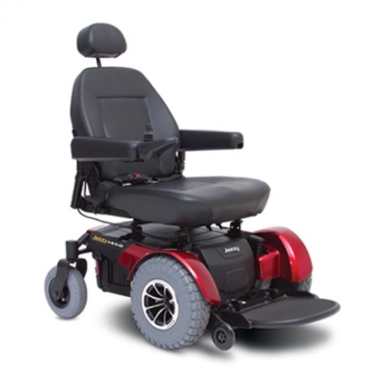 Pride Jazzy 1450 Heavy Duty Power Wheelchair