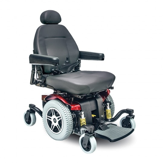 Red Pride Jazzy 614 HD Power Wheelchair