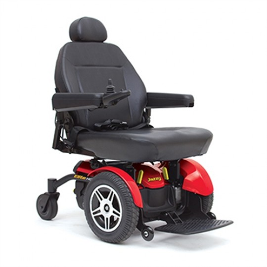 Red Pride Jazzy Elite HD Power Wheelchair